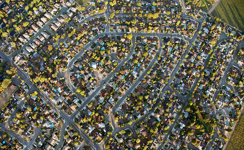 bird's eye view, Town , © Thomas-Sievert.de