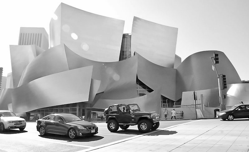 LA , Walt Disney Concert Hall , Los Angeles Philharmonic, Architecture , © Thomas-Sievert.de