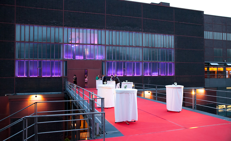 Party  , Zeche Zollverein , Event ,  Architecture , © Thomas-Sievert.de